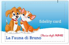 Fidelity Card della fauna di Bruno a Messina
